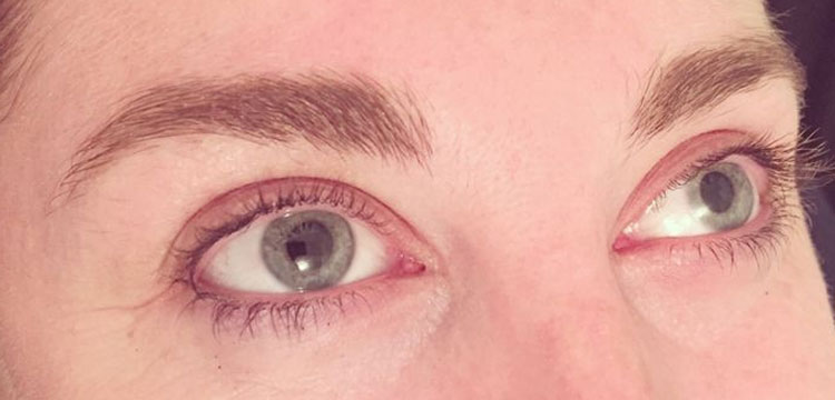 High def brows treatment - before