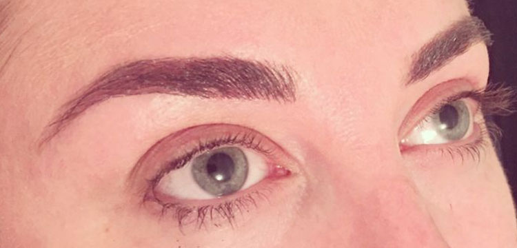 High def brows treatment - after